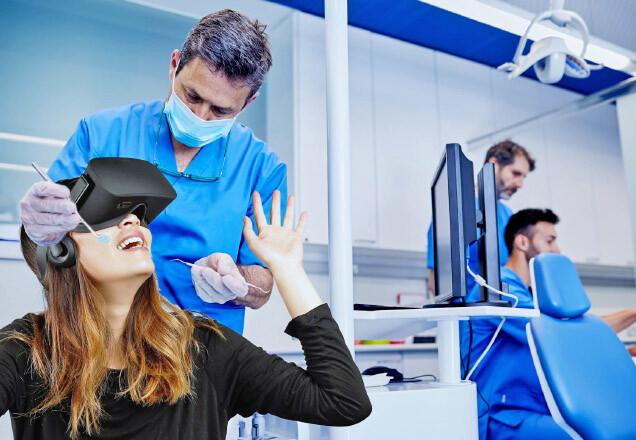 La realtà virtuale per vincere l'ansia del dentista