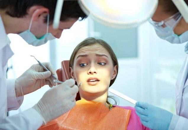 Gestione del dolore dal dentista