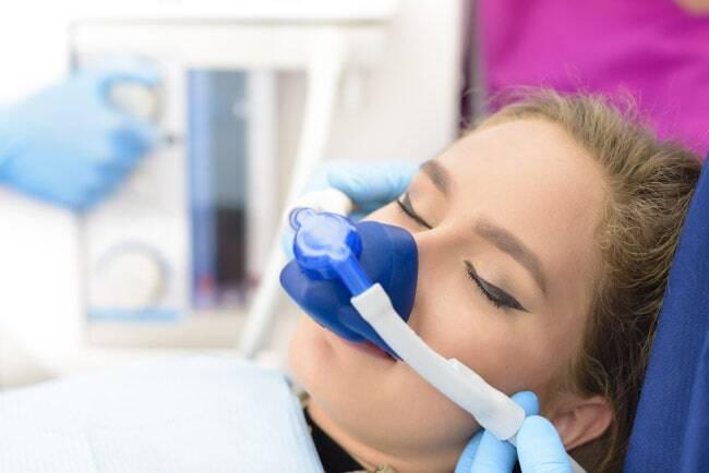 Denti fissi e anestesia totale
