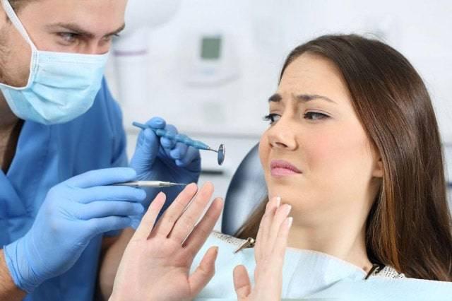 Dolore dal dentista
