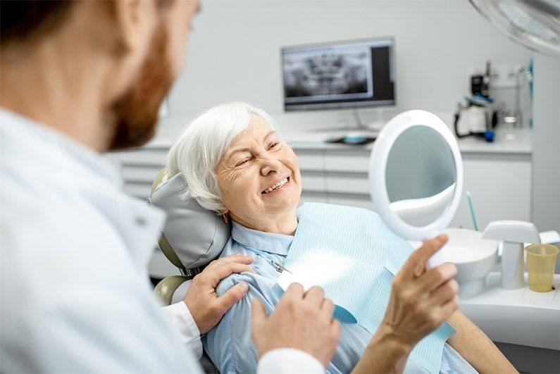 Perdita di denti negli anziani